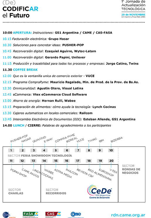 Agenda DeCODIFICAR 72
